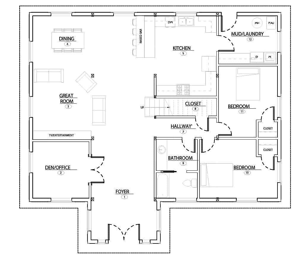 Fabulous 5 Great Two Story Barndominium Floor Plans Now With Zoom Download Free Architecture Designs Embacsunscenecom