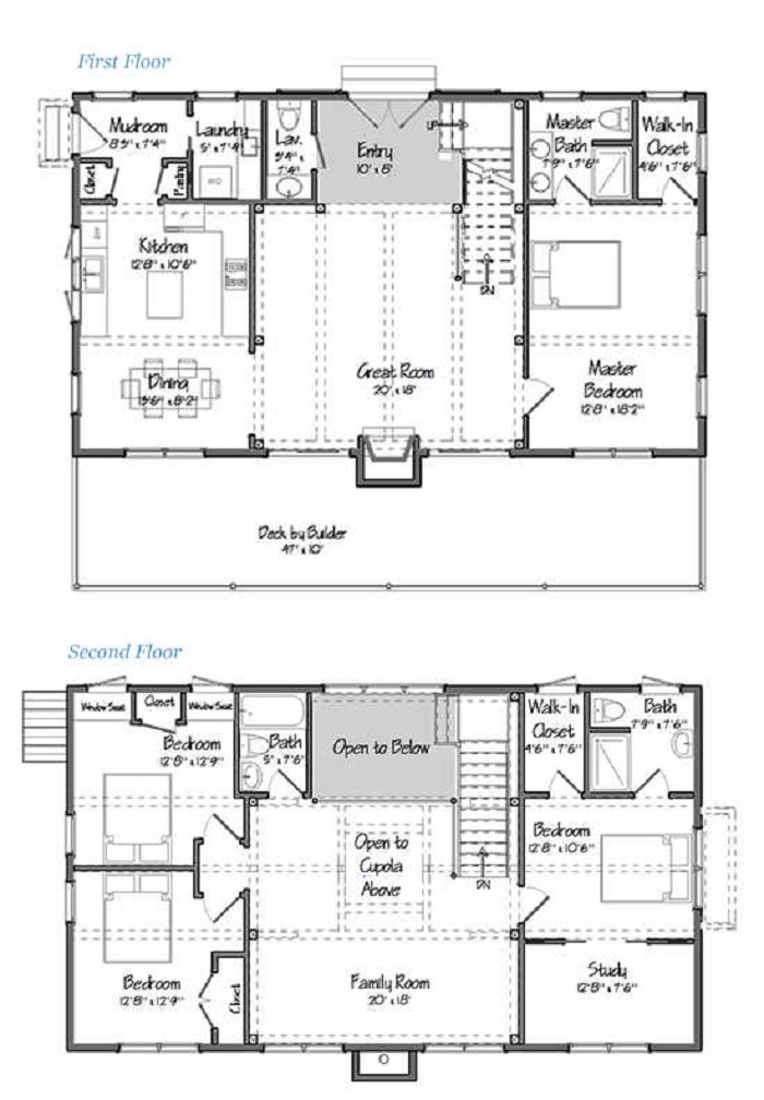 5 Great Two Story Barndominium Floor Plans -Now With ZOOM!