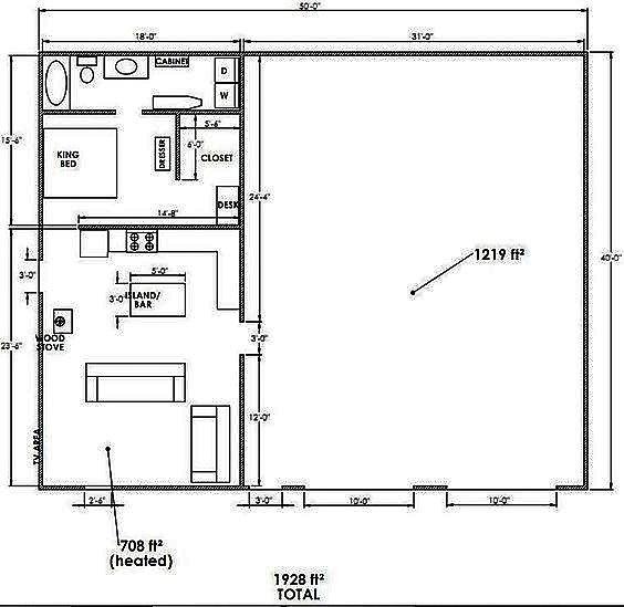 20 Unique Barndominium Designs: Barndominium Floor Plans 5 Bedroom
