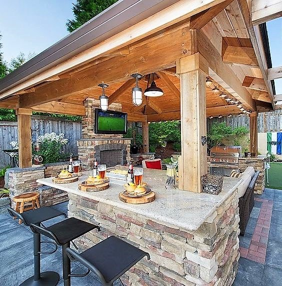 Outdoor Kitchens Every Barndo Should Have