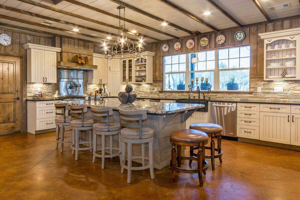 barndominiums kitchens are the focal point of the home