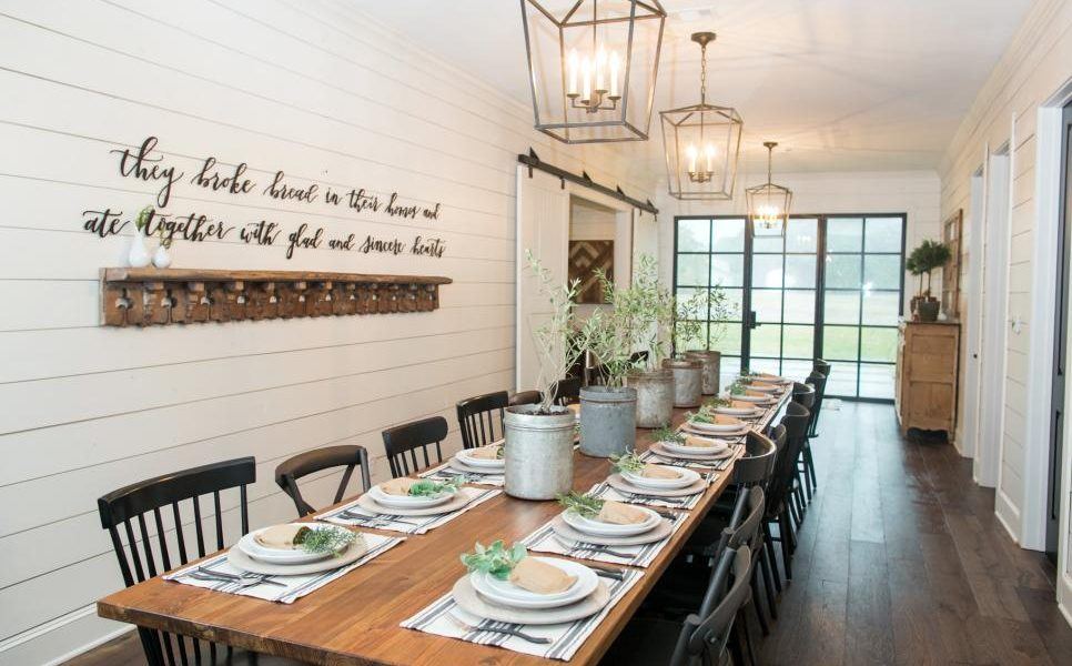 this barn to house conversion was done on Fixer Upper